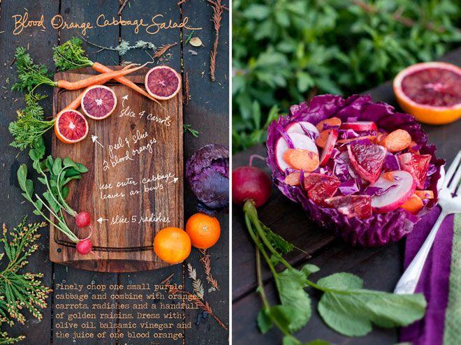food + design: Forestfeast, Orange Cabbage, Cabbages, Food Styling, Food Photography, Cabbage Salad Recipes, Blood Orange