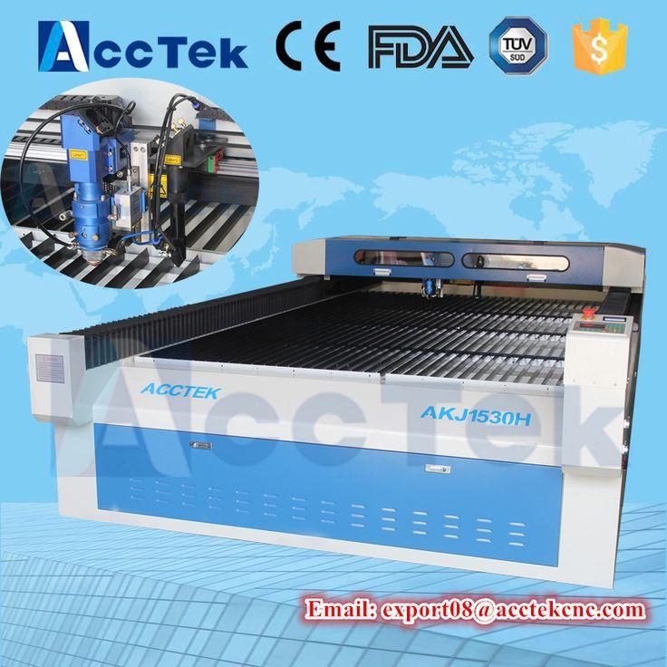 acctek co2 laser cutting / cnc laser cutting machine/ sheet metal laser cutting machine price