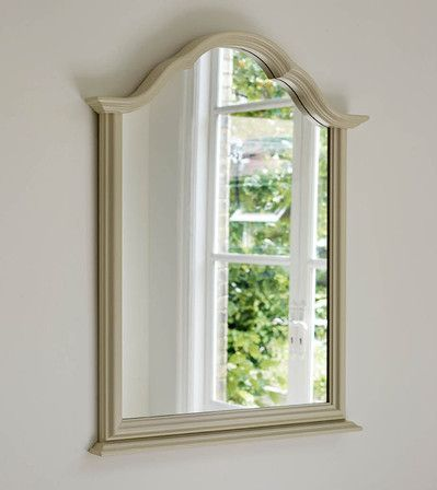 Dormy House Ashford mirror. 107 cm high 81 cm wide. 240 pounds painted white.