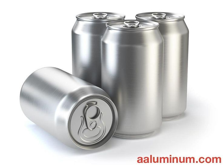 Yes, pop and beer cans are made out of Aluminum too! If you could create a pop or beer, what would you call it? Comment below! ⬇️