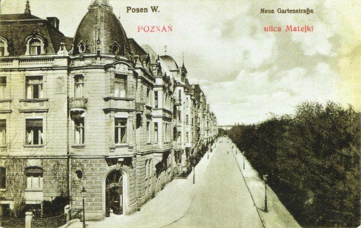 Pięknie było na Matejkach w 1905