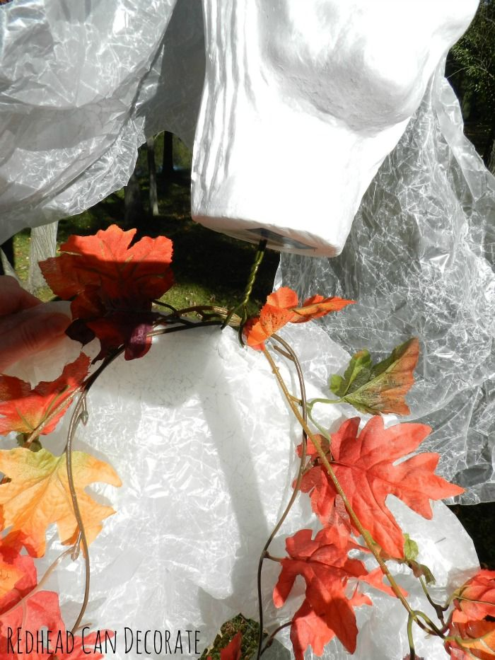 Wax Paper Halloween Bride - Redhead Can Decorate