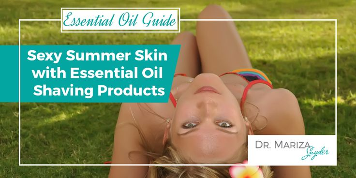 Essential Oil Shaving Products
