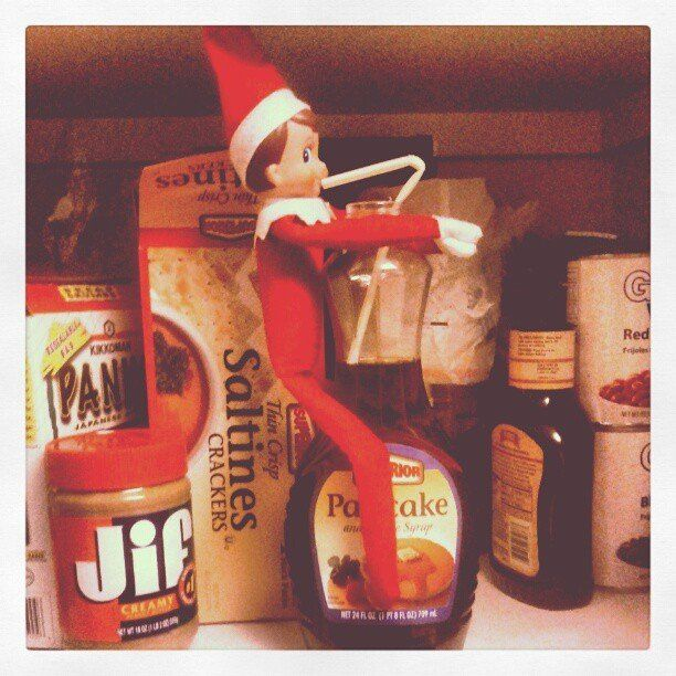 Straight From the North Pole: 44 Places to Put Your Elf on the Shelf