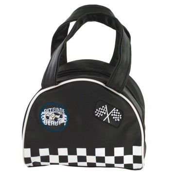 Black Racer Handbag (Wholesale Lot of 12)