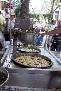 donut festival in Kushadasi, Turkey