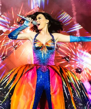 Katy Perry's Costumes from the Prismatic World Tour - Todd Thomas from #InStyle