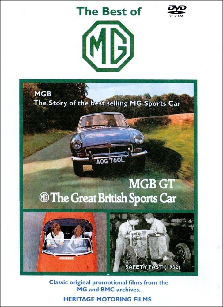 22 best veteran and vintage cars images on pinterest antique cars best of mg dvd 94 min mgb gt etc classic british motor car fandeluxe Image collections