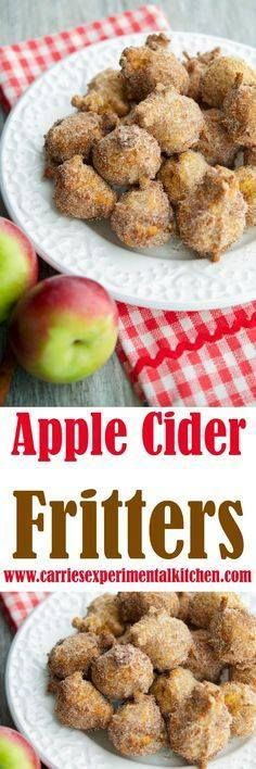 Apple Cider Fritters Apple Cider Fritters are delicious and made...  Apple Cider Fritters Apple Cider Fritters are delicious and made with warm bits of apple fresh apple Recipe : http://ift.tt/1hGiZgA And @ItsNutella  http://ift.tt/2v8iUYW