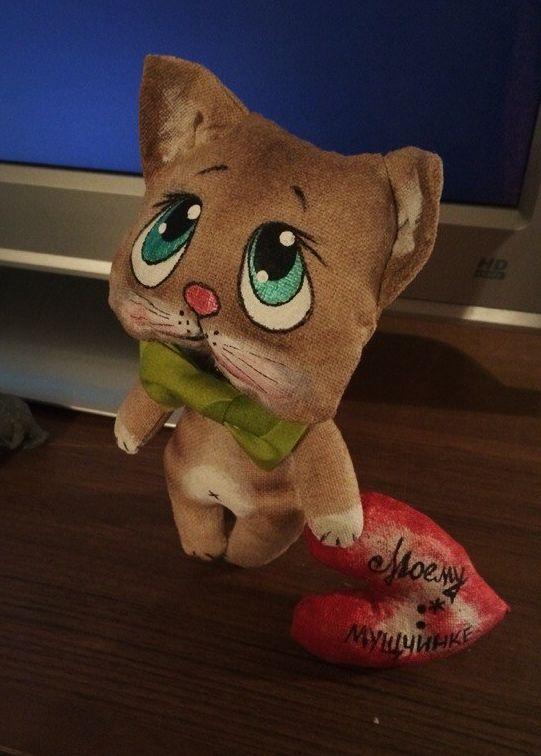 Милый кофейный котенок на день влюбленных.. Обсуждение на LiveInternet - Российский Сервис Онлайн-Дневников