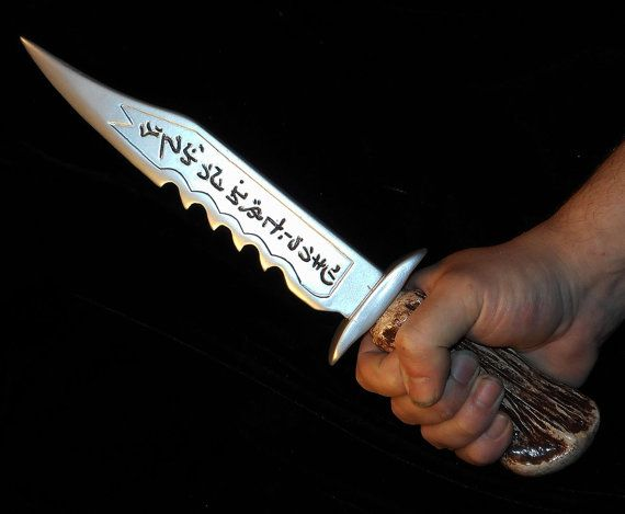 NEW Supernatural Ruby's Knife - Demon Killing Knife - Sam Winchester Dean Winchester