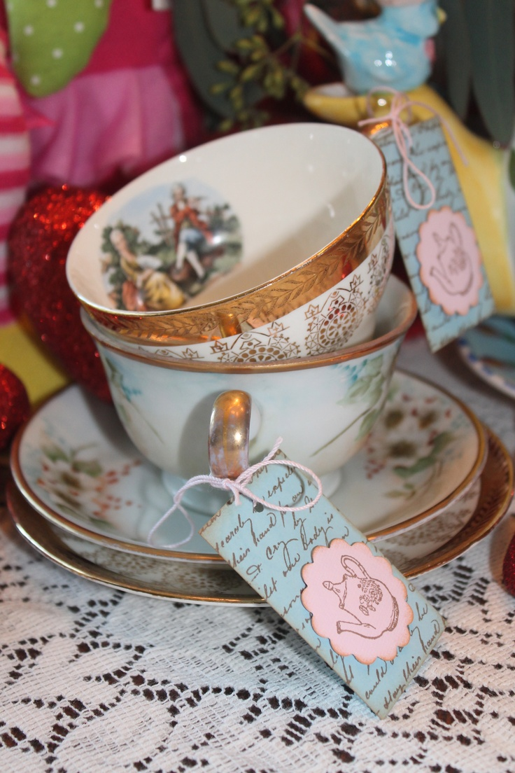 50 best images about tea cup on pinterest vintage for Teacup party favors