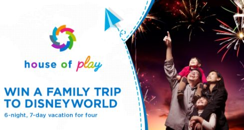 House of Play - Win a 7 Day Trip for 4 to Disneyland - http://sweepstakesden.com/house-of-play-win-a-7-day-trip-for-4-to-disneyland/
