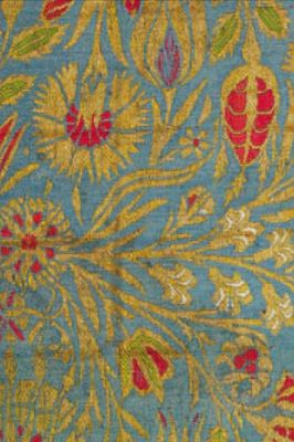 ~ Kemha with small-scale floral decoration, late 16th century, probably from Istanbul. via The Sultan's Garden: The Blossoming of Ottoman Art, The Textile Museum