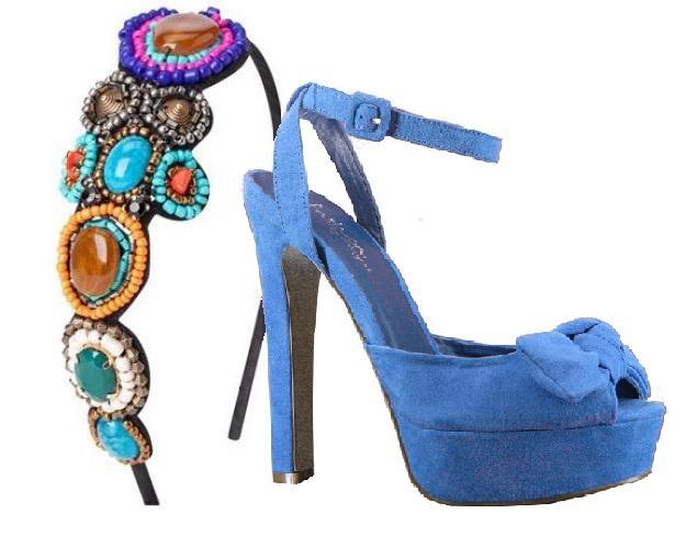 #HoyRecomendamos dar un toque divertido a vuestro look con una bonita diadema que combine con vuestros zapatos de #MARYPAZ