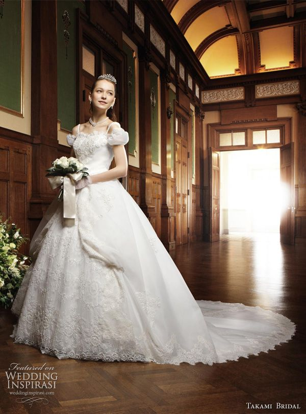 Rococo style wedding gown from the Royal Wedding collection by Takami Bridal.