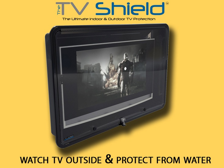 The perfect solution for protecting your TV from everything, indoors and outdoors at your home or business!