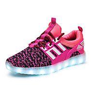Κοριτσίστικα+Αθλητικά+Παπούτσια+Ανατομικό+Φωτιζόμενα+παπούτσια+Τούλι+Άνοιξη+Καλοκαίρι+Φθινόπωρο+Αθλητικό+Causal+Περπάτημα+LEDΧαμηλό+–+EUR+€+38.63