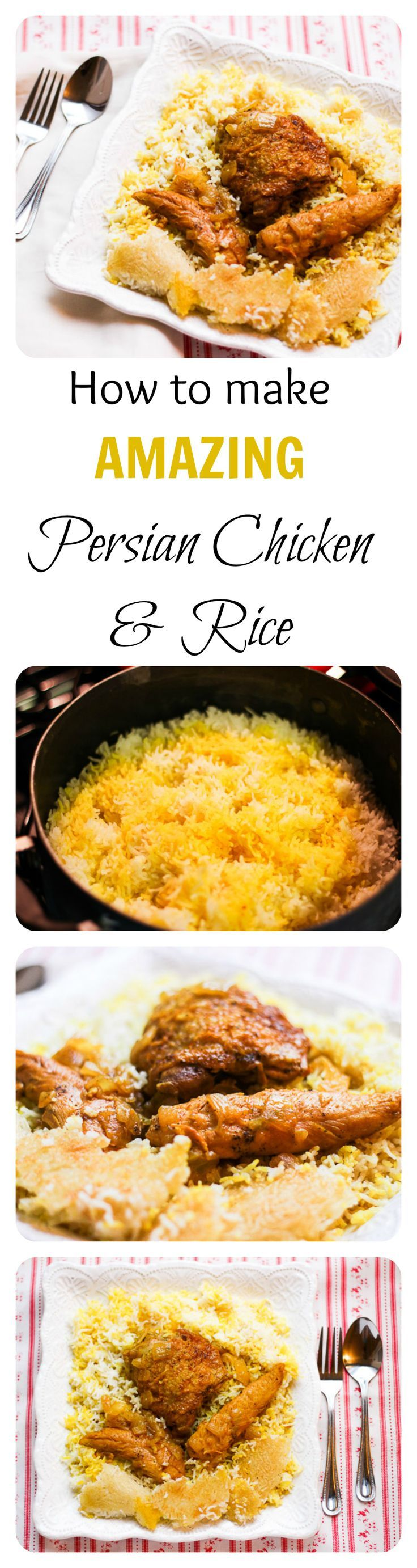 The Ultimate... the BEST Chicken and Rice recipe ever is this Persian Chicken and Rice (AKA Morgh Polo). It's a MUST.