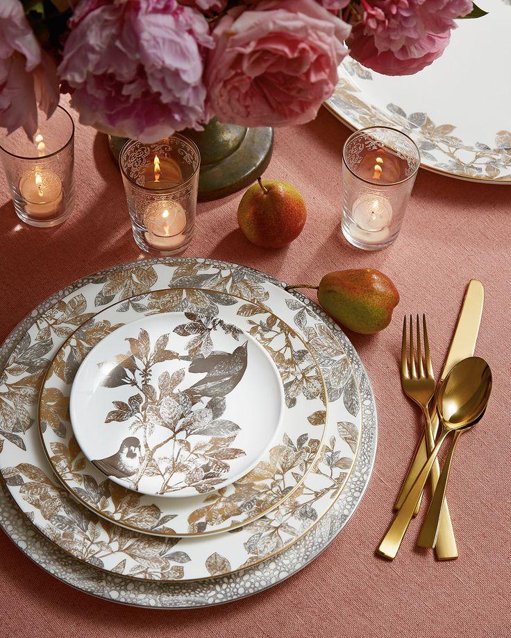 Caskata Gold Arbor Dinnerware