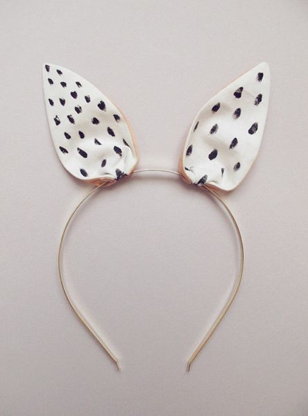 Bunny Hairband by Lucille - so cute for easter!