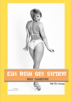 May Eat Real Get Strong challenge is open now! A month of meal plans, workouts, support and motivation - all for only $30!! Head over to the website to sign up now!