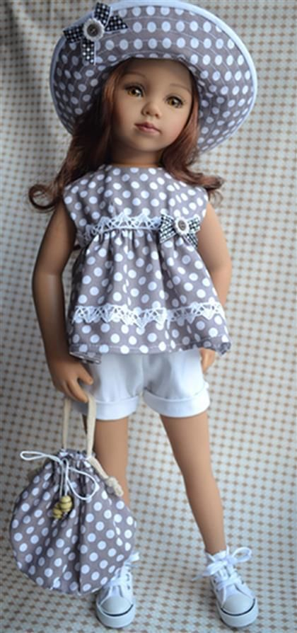 наряд для кукол maru & FRIENDS effner   19-20"