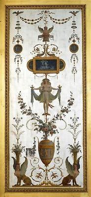 Painting by Michel-Hubert Bourgois et Jacques-Louis-François Touzé for the boudoir of Marie Antoinette at the chateau de Fontainebleau, 1787