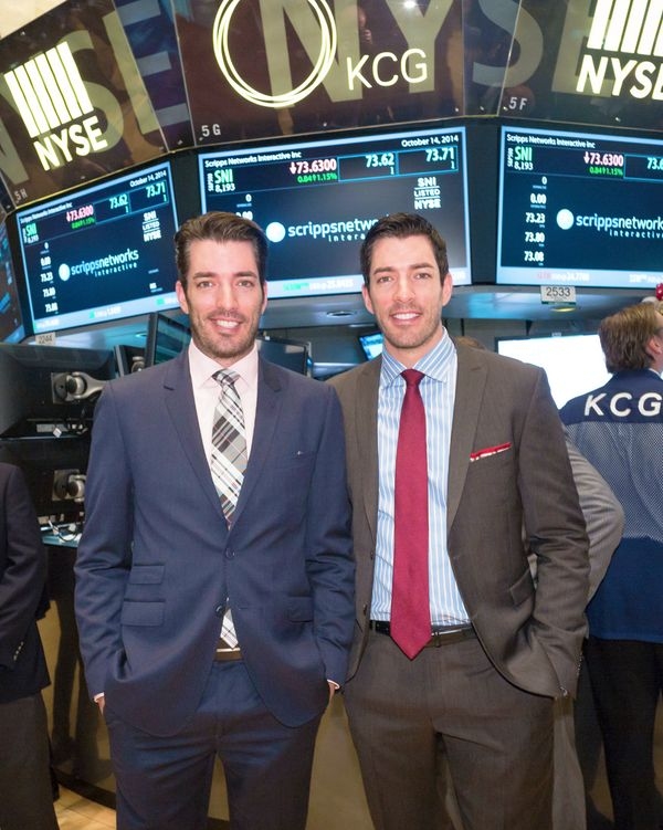 Got to ring the opening bell at the #NYSE to help @hgtv celebrate their 20th birthday!