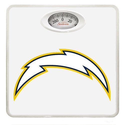 New White Dial Bathroom Weight Scale featuring San Diego Chargers NFL Team Logo * You can get more details by clicking on the image.