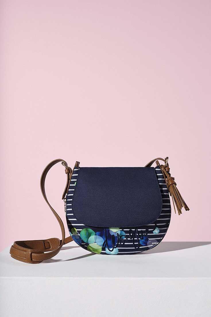 Blue messenger bag!
