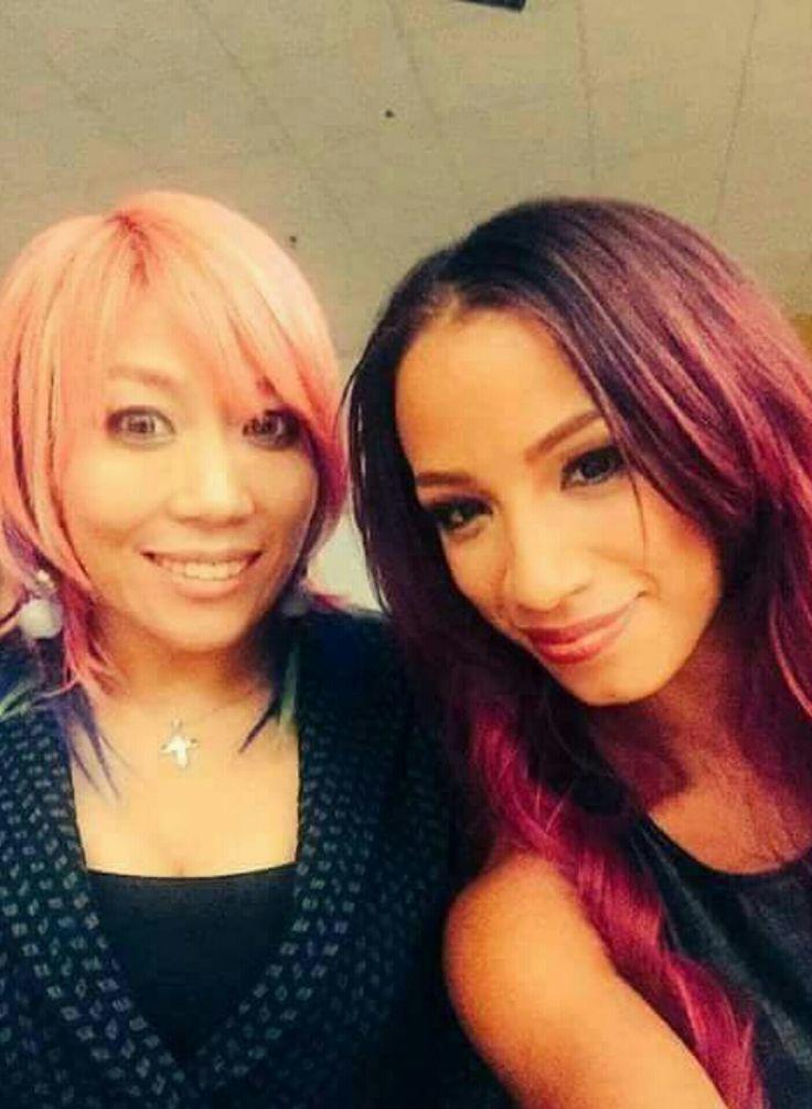 NXT Empress of tomorrow Asuka & the BO$$ Sasha Banks