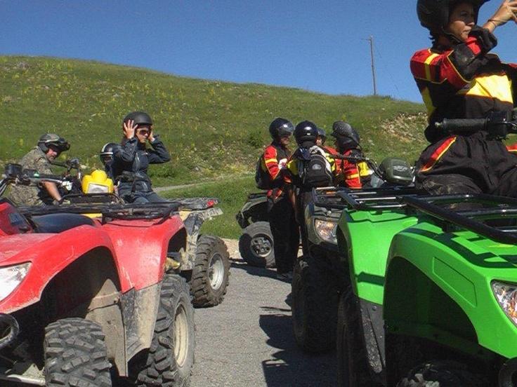 #gite in #quad per attività di #team #building