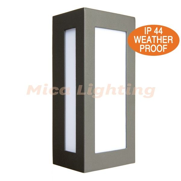 Brilliant Lighting 18048 Eave Slotted Outdoor Wall Lamp