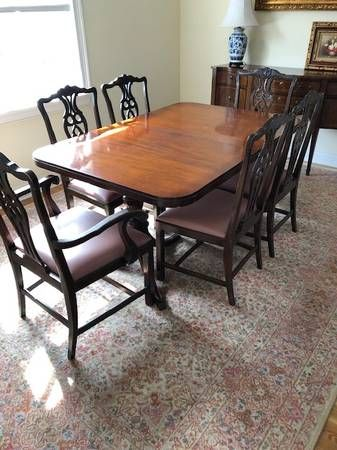 Vintage Dining Room Set Sideboard Furniture By Owner Sale