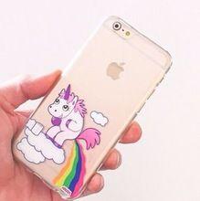 Péter arc pet bébé cheval licorne cas pour iPhone 4 4S 5 5S 5C 6 6 S Plus(China (Mainland))