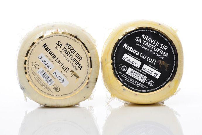 queso de Vaca y  cabra  con trufas - KARLIC TARTUFI QUESO DE CROACIA