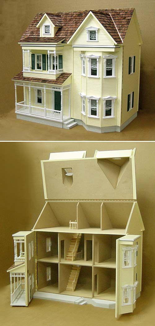 Best 25 doll houses ideas on pinterest for Victorian kit homes