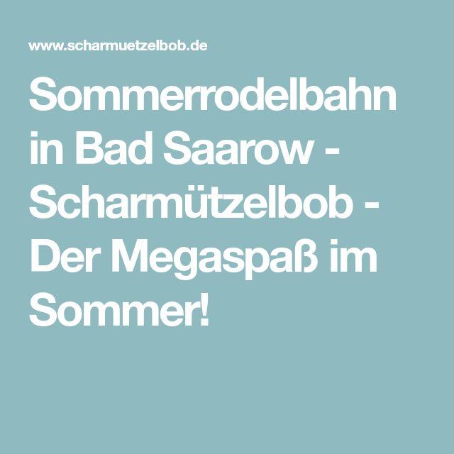Sommerrodelbahn in Bad Saarow - Scharmützelbob - Der Megaspaß im Sommer!