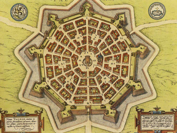 Пальманова — город-крепость в Италии