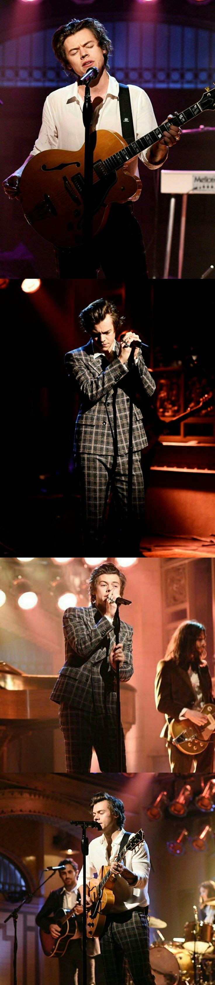 Harry Styles slays Sign of the Times and Ever Since New York on SNL. Follow ricksturn/harry-styles