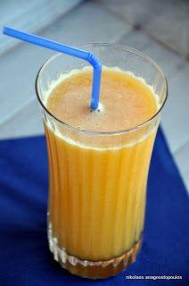 Orange pineapple banana smoothie | Food | Pinterest