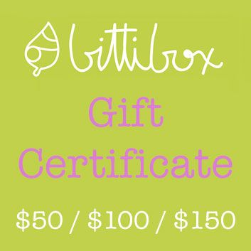 BittiBox now offers GIFT CERTIFICATES! http://bittibox.com/catalogue/gift-certificate/  Now you can let your friend or family member have the wonderful experience of creating their own Natural & Organic baby hamper!