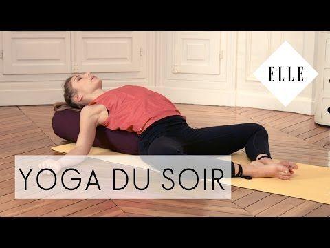 Cours de Yoga du soir - ELLE YOGA - YouTube