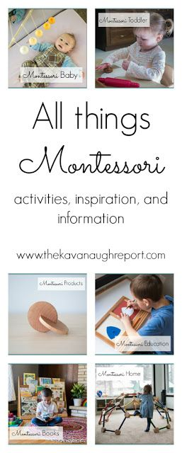 All things Montessori -- Montessori resources, activities, inspiration and information for use at home.