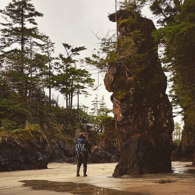 Exploring Cape Scott Provincial Park on Northern Vancouver Island. Photo; @_ryandickie via Instagram #exploreBC #exploreCanada