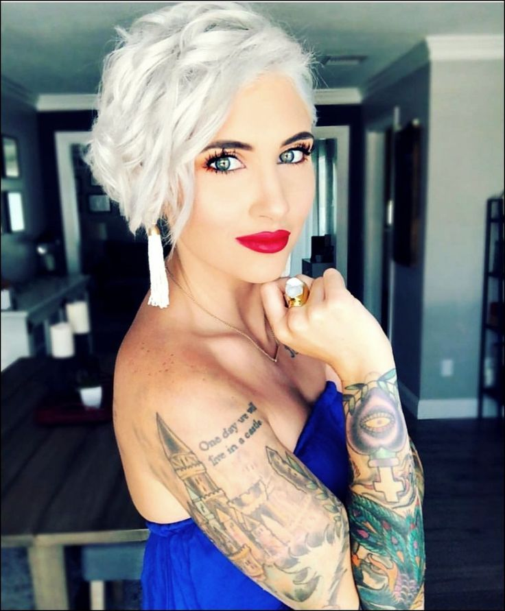 20 Inspirational Woman Short Hairstyles for 2019-2020