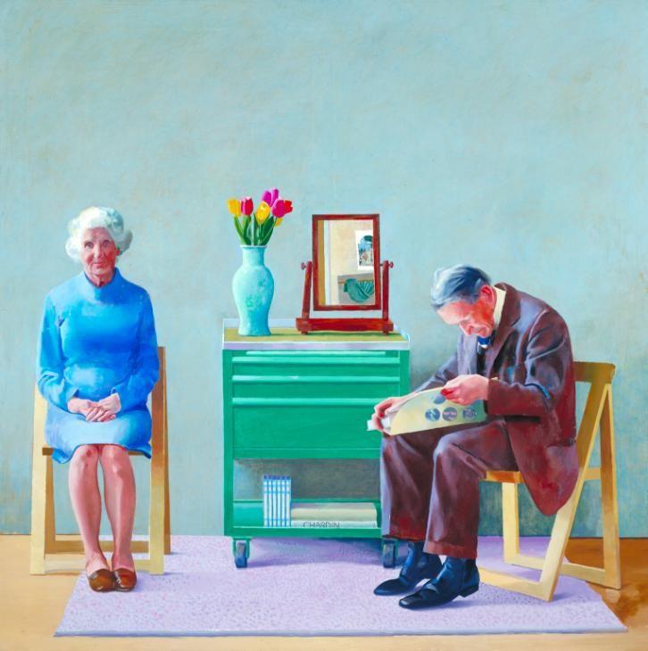 David Hockney 'My Parents', 1977 © David Hockney