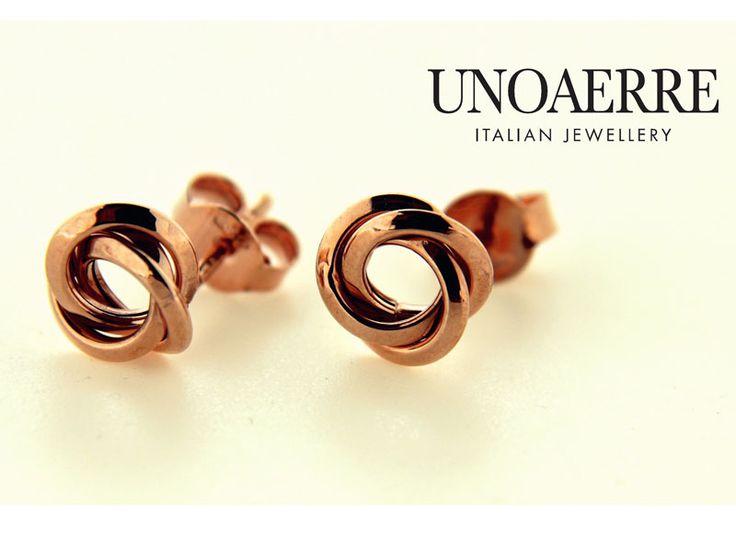 UNOAERRE pierce 18K Pink gold