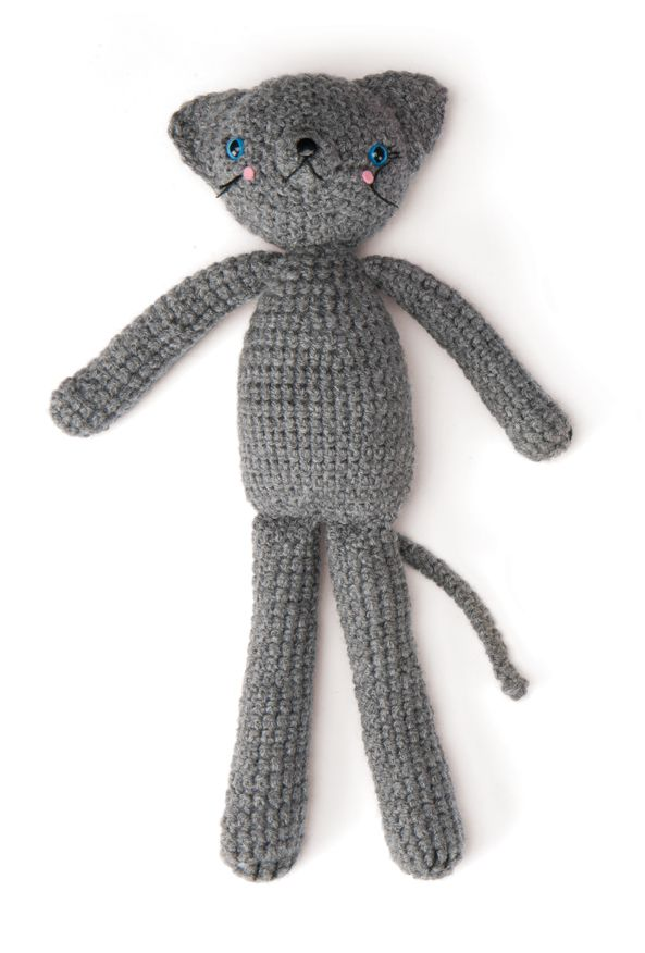39 best Free Cat Crochet Patterns images on Pinterest | Crochet cats ...